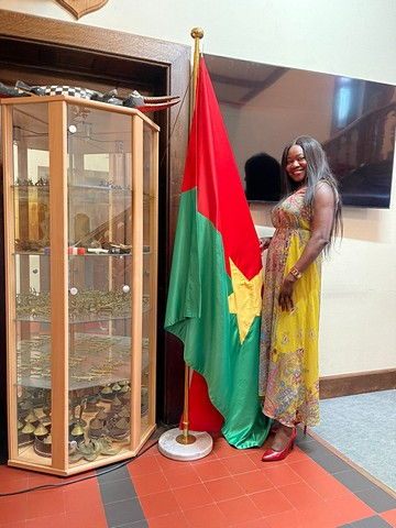 thumbnail-Adeline ontvangen in ambassade Burkina Faso
