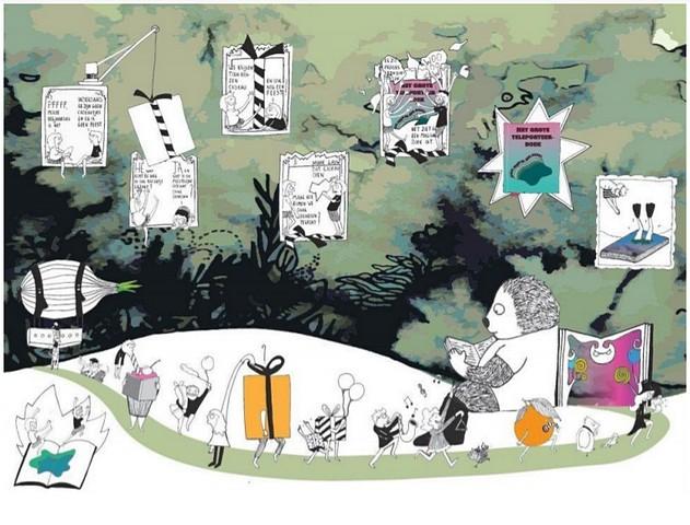 thumbnail-Al 129 kinderen nemen deel aan leesactie van Tieltse bib