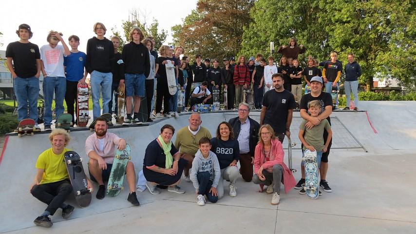 thumbnail-Opening nieuw skatepark
