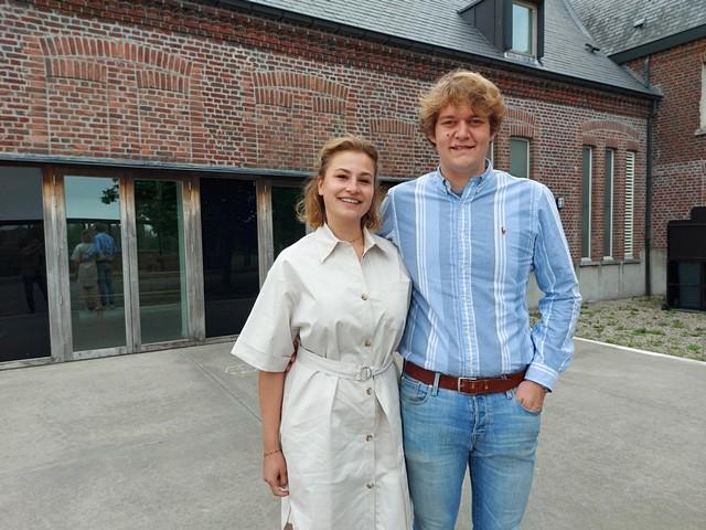 thumbnail-Robbe Ceunis en Mathilde Bauwens beginnen met Poelverzet op Poelberg