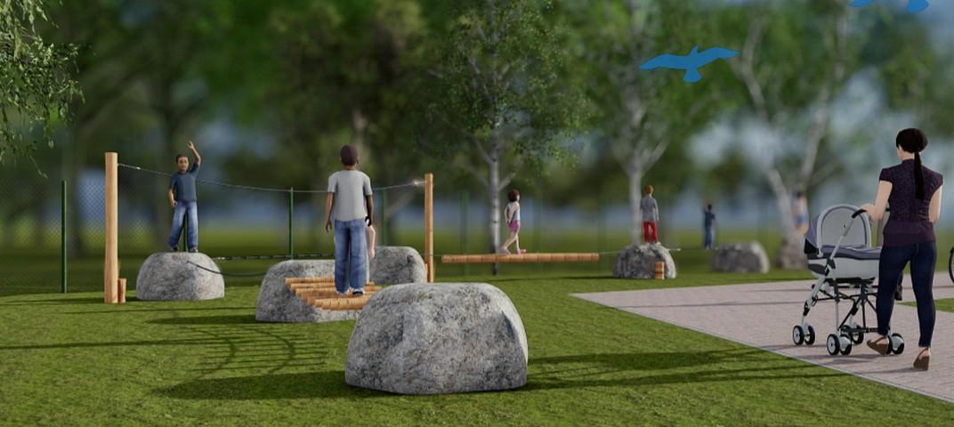 thumbnail-Kinderen kiezen wiebelbalken voor nieuw speelparcours in Tielt