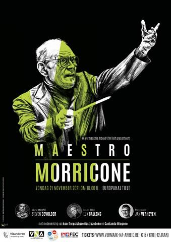 thumbnail-Harmonie Vermaak Na Arbeid Tielt brengt hulde aan Maestro Morricone