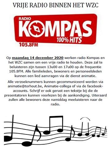 thumbnail-Radio Kompas fleurt WZC Sint-Augustinus op