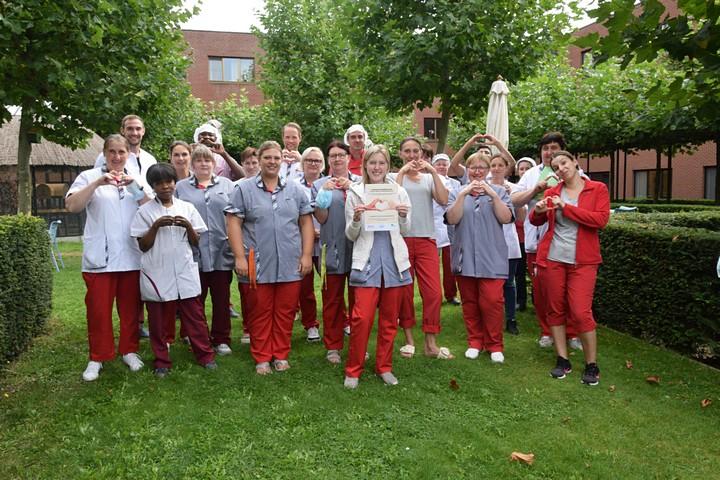 thumbnail-Prikactie tegen 'privatiseringsdecreet' in WZC Sint-Augustinus